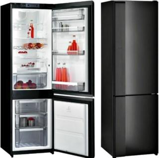 Черные холодильники Gorenje - оформление интерьера кухни в разных стилях