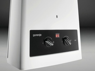 Постоянная модуляция пламени в газовых водонагревателях Gorenje