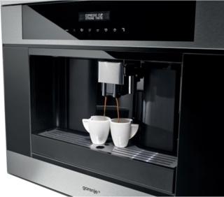 Функция «Капучино» в кофемашинах Gorenje