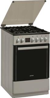 Кухонные плиты Gorenje цвета «нержавеющая сталь»